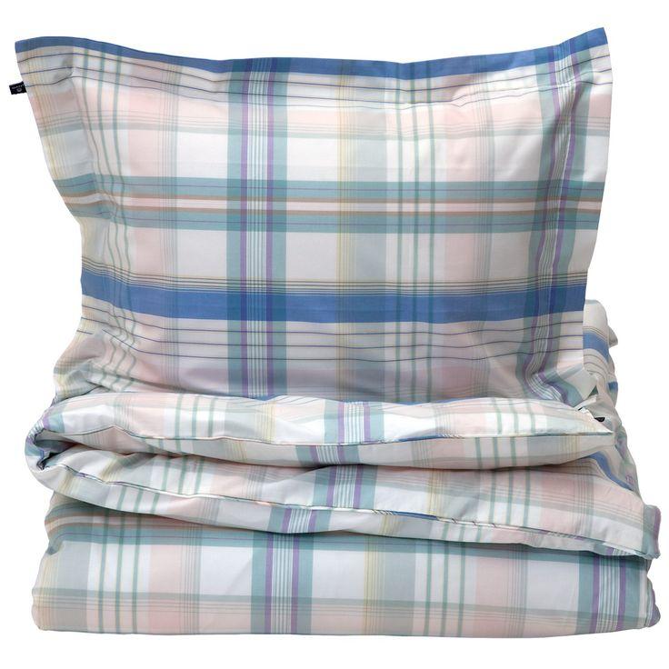 La Check påslakan dubbel, breeze i gruppen Textil / Sängkläder / Påslakan hos RUM21.se (129693)
