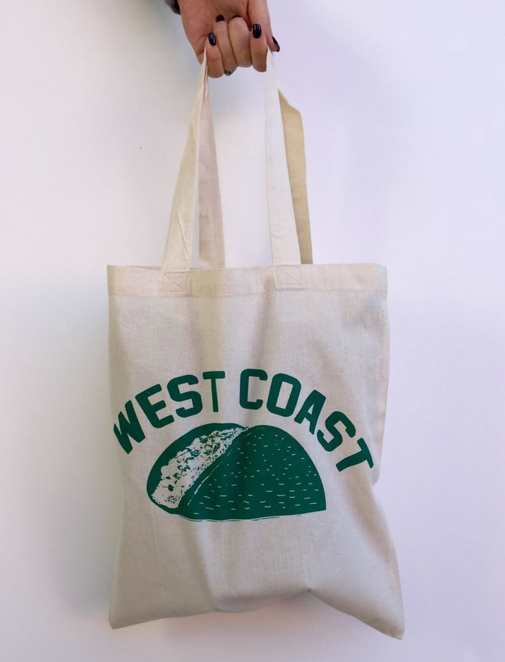 West Coast TACO Eco-Friendly Market Tote Bag