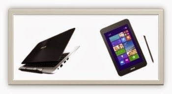 In this post, you will read specs, price and reviews for Asus' two upcoming Windows 8.1 tablets – Transformer Book Duet TD 300 with dual OS and VivoTab Note 8 with Wacom digitizer.
