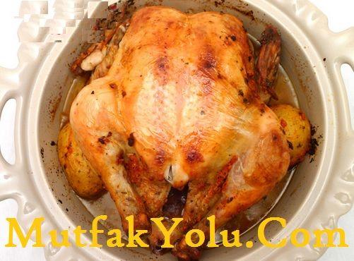 Kızarmış Tavuk Merhabalar değerli MutfakYolu.Com okurlarımız, bugün sizlere güzel bir tavuk tarifi vereceğim. Kızarmış tavuk bildiğimiz gibi fırında ya da ateşin üzerinde olur; ancak bu tarifimiz tencerede kızarmış tarifi. Evet yanlış duymadınız bugün tencerede kızarmış tavuk yapacağız. Üstelik yemeğin yapımı oldukça kolay. Şimdi Tencerede Kızarmış Tavuk Tarifi sizlerle. Kızarmış Tavuk Malzeme Listesi 1 adet bütün…