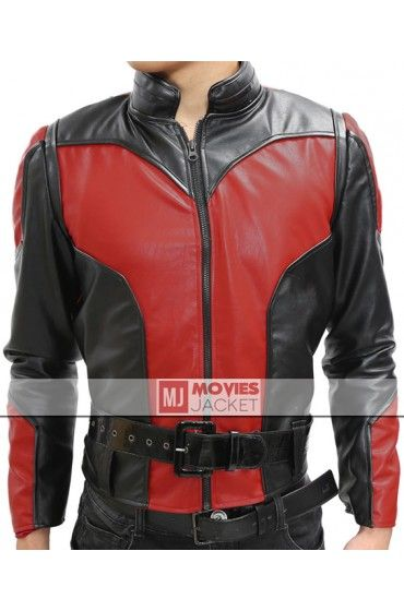 Get Now! Paul Rudd Leather Jacket for sale at Discounted Price $119.00. Ant Man Movie Jacket made from faux leather / genuine leather.  #PaulRudd #LeatherJacket #AntMan #MovieJacket #Jacket #Costume #MensFashion #Style #OOTD #ComicCon #RedJacket