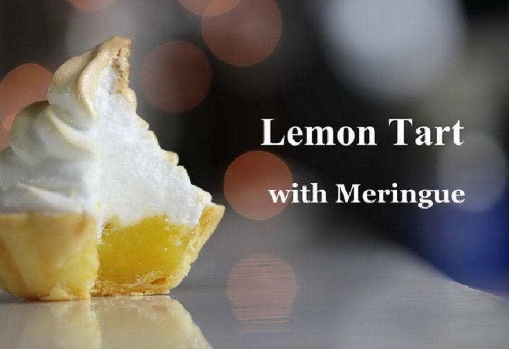 Lemon Tart with Meringue Recipe