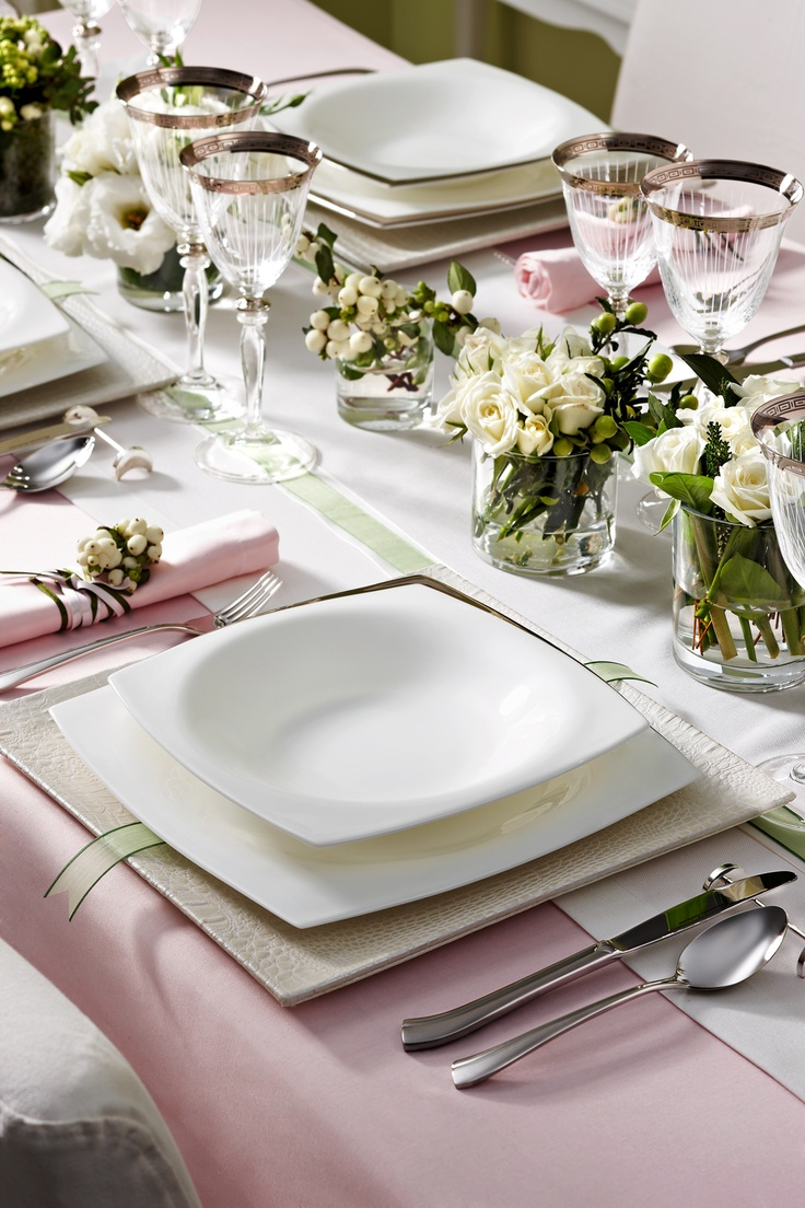 Absolute Platinum Yemek Takımı / Dinnerware Set #bernardo #kitchen #mutfak #dinner #tabledesign