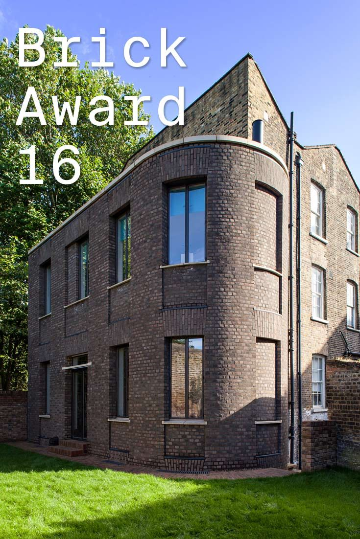 #WienerbergerBrickAward 2016 nominee 23: House In Wapping, UK by Chris Dyson Architects, UK. A traditional masonry construction was chosen to reflect and compliment the surrounding Georgian architecture. Photographer: Peter Landers