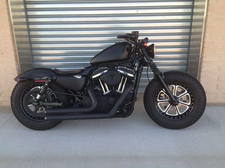 Harley Davidson sportster forty eight #motosharleydavidsonchoppers