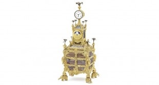 Muzyczny czasomierz należący do przedostatniego króla Egiptu Faruka I będzie można zakupić na aukcji zegarów 12 grudnia w Londynie. Cena bogato zdobionego srebrem obiektu szacowana jest na 150-250 tysięcy funtów.