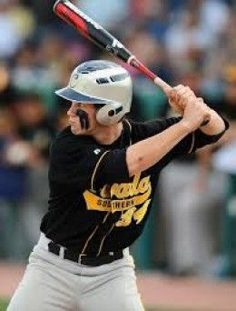 Bryce Harper in high school - with exaggerated eye black.