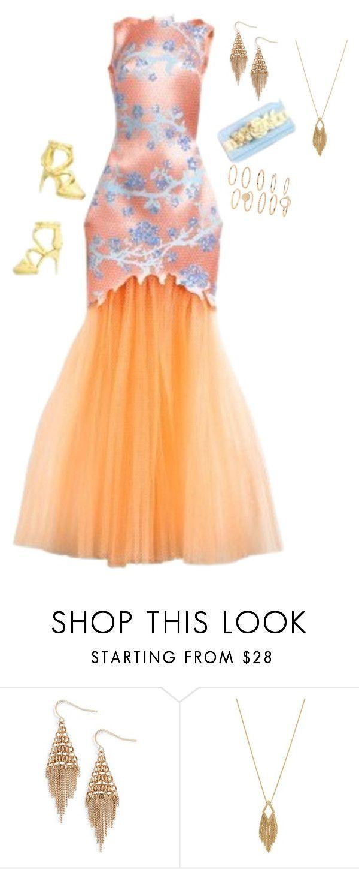 """outfit elegante"" by luzpineda on Polyvore featuring moda, Treasure & Bond y Jessica Simpson"