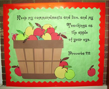 love apples! wanted to have a board last from September to the end of November w/o changing it!!