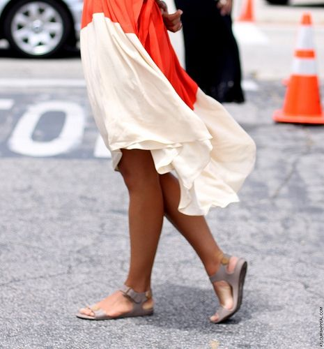 color block: Summer Fashion, Style, Skirts, Outfit, Photo, Wear, Flowy Skirt