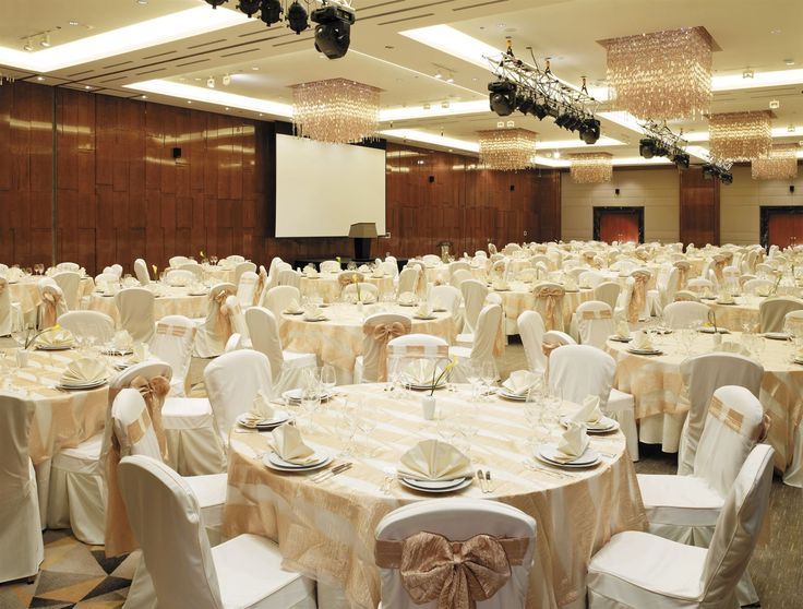 Lotte Plaza Hotel Moscow, Russia. #conference #room #event #meeting #crystal #chandelier #lighting #design