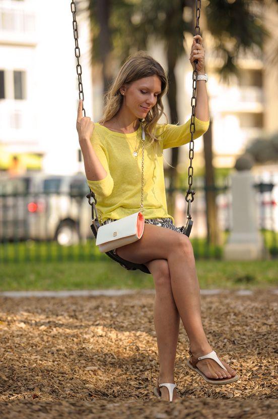 Лук для детской площадки, блог модной мамы, модная мамочка, стиль молодой мамы, детские сады Майами, идеалистка, Люся Заичкина