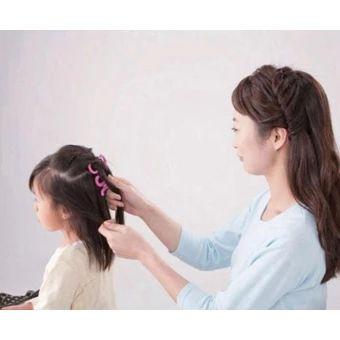 ซื้อเลย  Women Girl DIY fashion Wavy Twist Styling Hair Braider StylingTools Small Red  ราคาเพียง  110 บาท  เท่านั้น คุณสมบัติ มีดังนี้ Hair Braider Twist Styling Tools Wavy DIY Red Small Girl Women