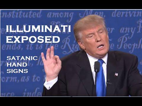 Donald Trump vs. Hillary Clinton ILLUMINATI EXPOSED (satanic/masonic ...