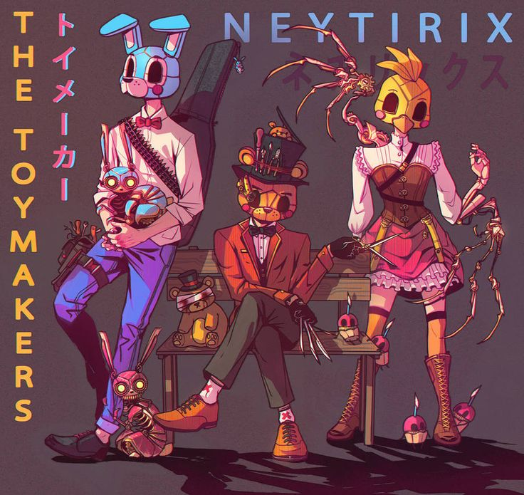 THE TOYMAKERS (FNAF) by Neytirix Fnaf characters, Anime