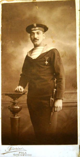 Splivalo_Antal_(Toncsi)1890-1915.  Antal Splivalo lived 25 years. He was born in the year of 1890, at Budapest. He had died for King and country in action on 29th December 1915 on board of destroyer S.M.S. LIKA, before port of Durazzo, while performing his duty. His ship was mined. He did not left his action station, and went down for ever with his ship and 33 shipmates.25 Years, Kukania Kriegsmarin, 33 Shipmat, 29Th December, December 1915, Austro Hungarian Navy, Splivalo Living, Action Stations, Antal Splivalo
