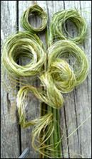 NZ flax weaving blog » Blog Archive » Using flax for foliage