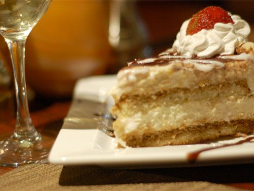 Wine suggestions for different types of desserts