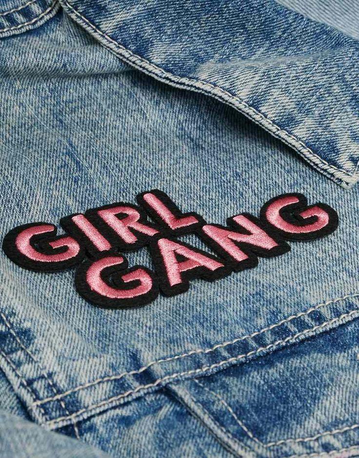 Image 3 ofSkinnydip Girl Gang Iron On Patch