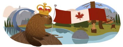 Google Doodle - Canada day by Willie Real