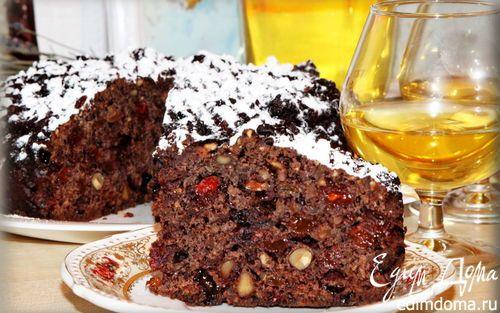 Старинный английский фруктовый кекс   Кулинарные рецепты от «Едим дома!»