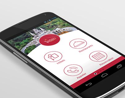 "App Mobile design Check out new work on my @Behance portfolio: ""Hôtels Vinuales - Applications Mobiles"" http://be.net/gallery/33127607/Hotels-Vinuales-Applications-Mobiles"