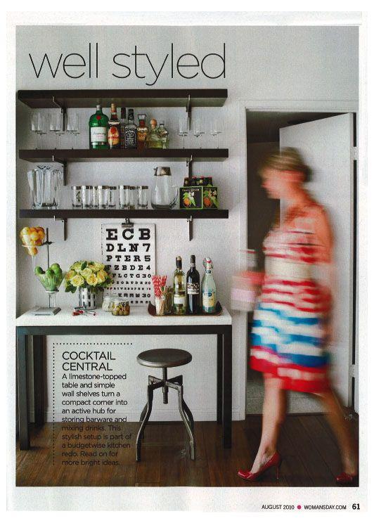 barAt Home Bar, Meier Design, Amy Meier, S'Mores Bar, Coffee Bar, Bar Style, Drinks Bar, Bar Area, Bar Carts