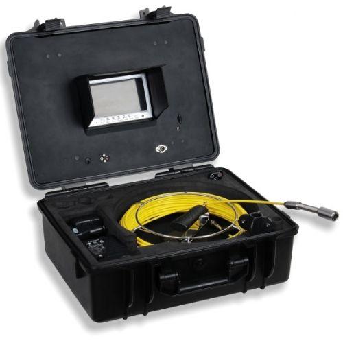 http://handinstrument.se/inspektionskamera-r322/inspektionskamera-for-avlopp-skorstenar-ror-kabelkanaler-58-188D-r53385  Inspektionskamera för avlopp, skorstenar, rör, kabelkanaler   En portabel, kompakt kamerautrustning för inspektion av avlopp, skorstenar, rör, kabelkanaler, väggkaviteter och andra svårtillgängliga områden.  Med den inbyggda färgskärmen gör det enkelt att se varje detalj. Du kan justera ljusstyrka, kontrast, färg, skärpa och ljus i kameran huvudet så att du får bästa...