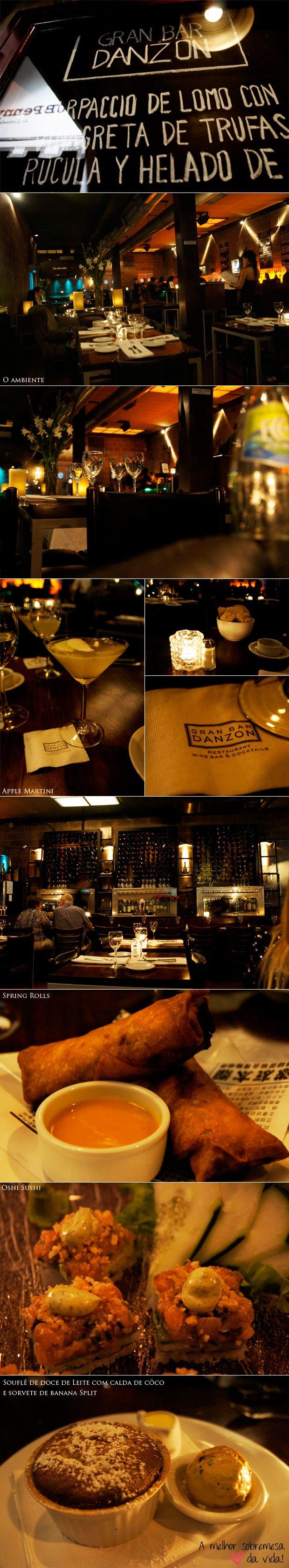 Gente, sem dúvidas o melhor lugar que fui em Buenos Aires foi o Grand Bar Danzon! Juro, uma surpresa e tanto quando cheguei lá, e diga-se de passagem, do início ao fim do jantar! Bom, o lugar é lindo, tem um ambiente super agradável, com músicas super badaladas! É um lugar para ir com a … Continue reading Dica gastronômica BsAs – Gran Bar Danzon