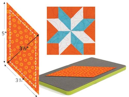 22 best AccuQuilt images on Pinterest   Quilting tips, Quilt ... : parallelogram quilt pattern - Adamdwight.com