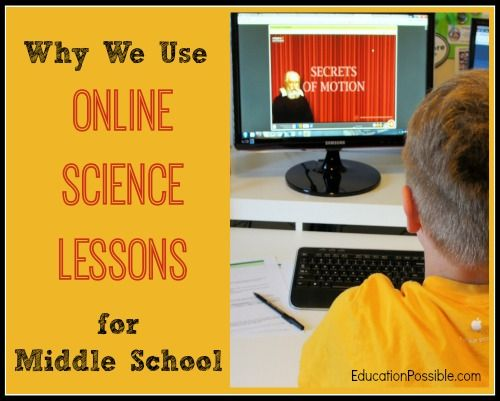 curriculum online middle school