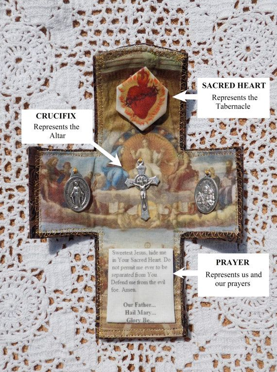 Pocket Shrine - Catholic Prayer Gift for Priest, Deacon, Confirmation, yourself, or anyone by HisLittleGarden