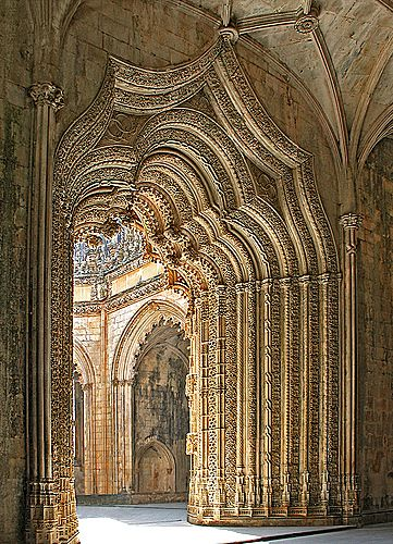 Batalha Monastery - Portugal  The Unfinished Chapel is so beautiful