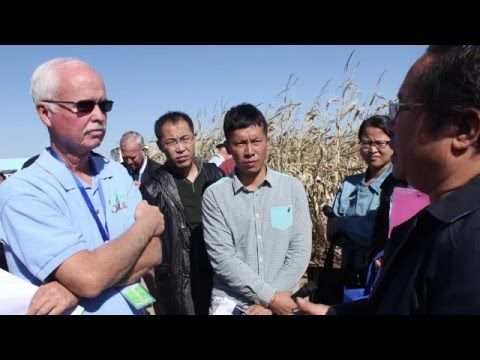 #KState Subsurface Drip #Irrigation Exchanges with China #KSRE