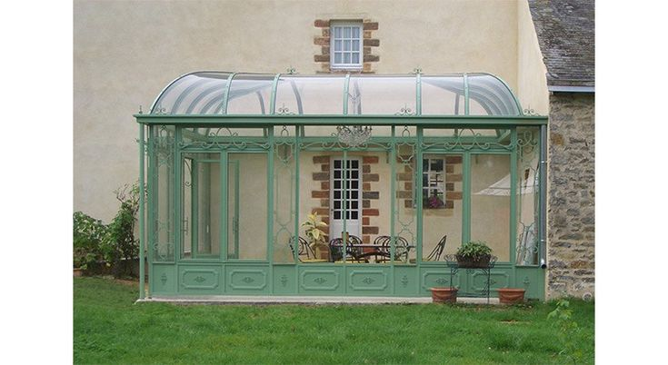 Best Images About Outdoor Indoor Orangeries On Modele Veranda Maison  Ancienne Conception Etonnante