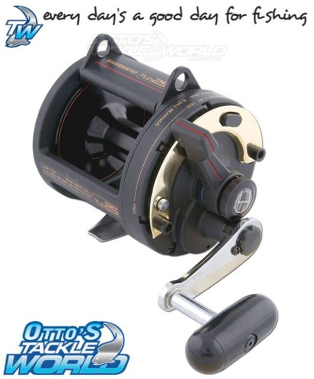 3d848e72f37 Shimano TLD Lever Drag Overhead Fishing Reel BRAND NEW @ Ottos Tackle World