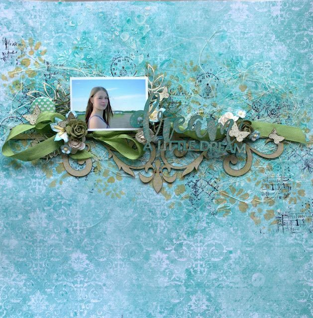 Video Tutorial & Layouts for August by Sandra Bernard