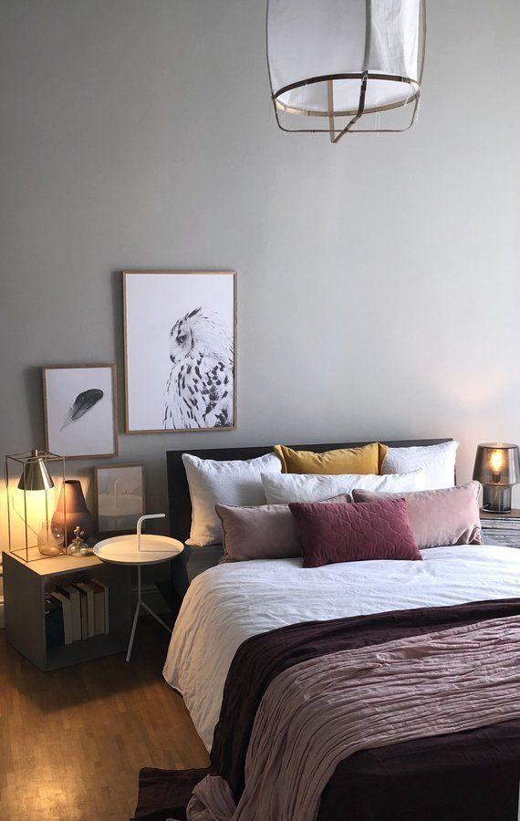 Herbst - nun auch Scandinavian Bedroom Ideas Pinterest
