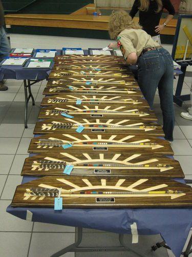 Arrow of Light Awards - by nonickswood @ LumberJocks.com ~ woodworking community