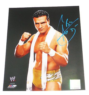 WWE ALBERTO DEL RIO HAND SIGNED 8X10 PHOTO FILE W/ PROOF 7