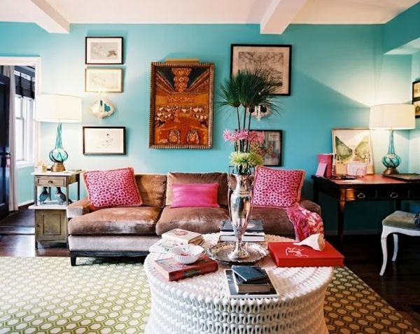 Die besten 25+ Sofa türkis Ideen auf Pinterest Mint room, Couch - wandgestaltung wohnzimmer braun turkis