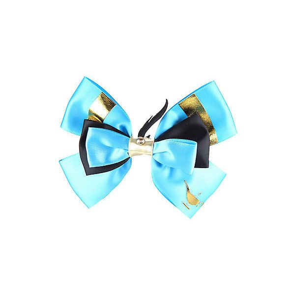 Disney Aladdin Genie Cosplay Hair Bow Hot Topic 6 37 Liked On Polyvore Featuring Accessories And My Finds Pinterest
