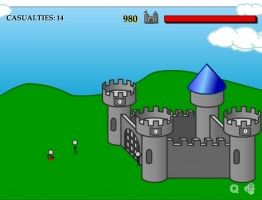 Play the free online game Defend Your Castle at: http://stickwargames.com/defend-your-castle