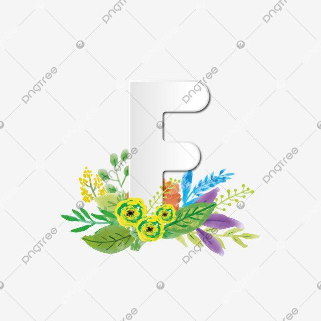 حرف F عنصر شعار أولي بزخرفة نباتية باللون الأبيض نقش شعار الشعار الأولي عنصر شعار Png والمتجهات للتحميل مجانا Floral Decor Initials Logo Lettering