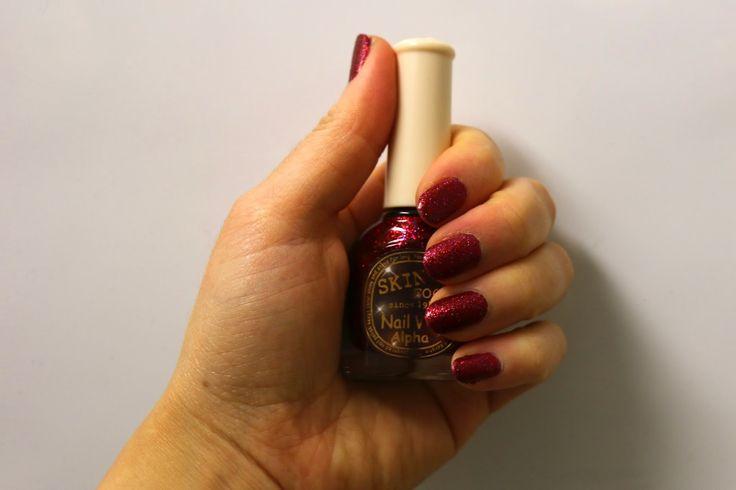 Innocent Culture Blog ✖ Koreanische Kosmetik & Asiatische Produkte: Skinfood Nail Vita Alpha Sparkling Wine AGL17