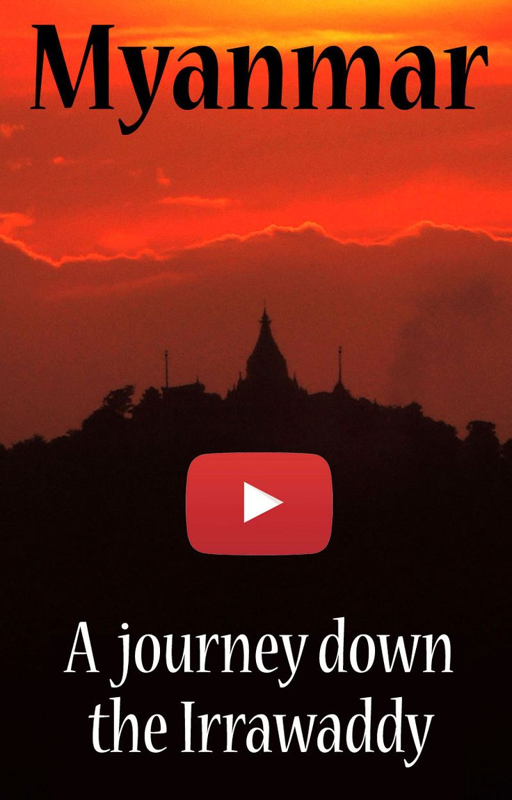 Travel video of an exotic ten day river cruise down the Irrawaddy River from Mandalay to Pyay