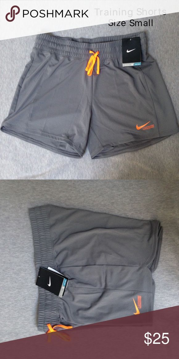 NWT Nike Women's Training Shorts Size Small Brand new with tags. Authentic Nike! CHECK OUT MY CLOSET FOR MORE DESIGNS SND SIZES! Nike Shorts