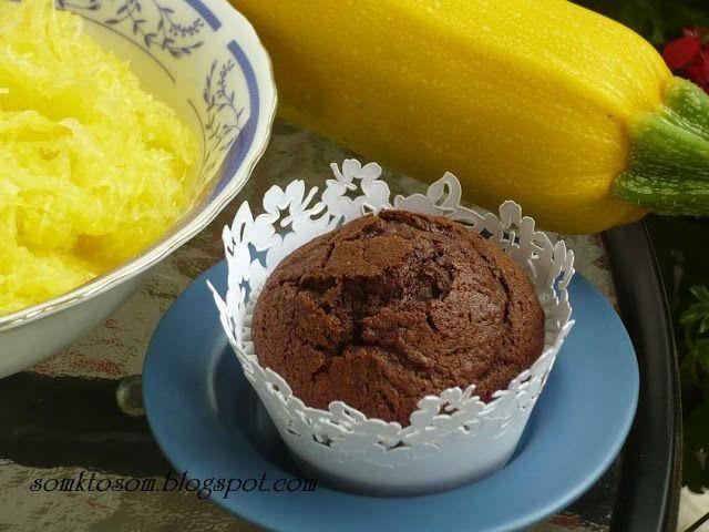 RECEPTY Z MOJEJ KUCHYNE A ZÁHRADY: Cuketové muffiny