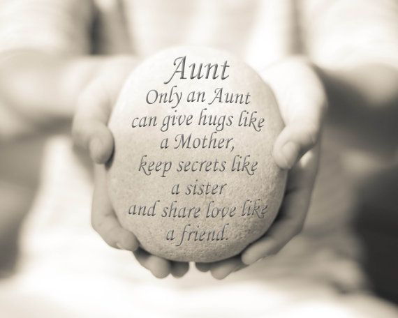Gift for Her Aunt Quote Print Aunt Print by OceanDropPhotography, $19.00