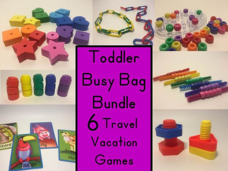 Busy Bag Bundle Travel Vacation Games Fine Motor Toddler Busy Bag Preschool Learning Nuts and Bolts Puzzle Lacing Beads Pegboard Montessori by busybagFUN on Etsy https://www.etsy.com/listing/280308228/busy-bag-bundle-travel-vacation-games